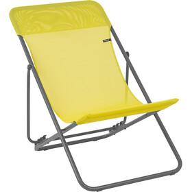 Lafuma Mobilier Maxi Transat - Siège camping - Batyline jaune/gris